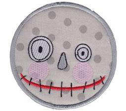 Smiley Face Halloween Applique 16