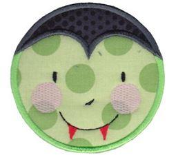 Smiley Face Halloween Applique 18