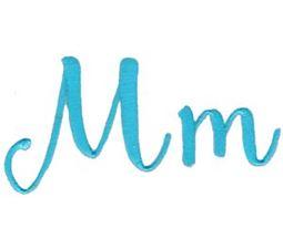 Smoothie Shoppe Alphabet M