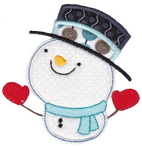 Snowbusiness Applique 2