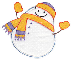 Snowbusiness Applique 5