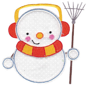 Snowbusiness Applique 6