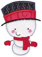 Snowbusiness Applique