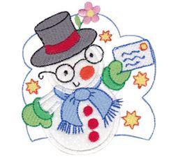 Snow Cuties Applique 1