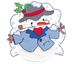 Snow Cuties Applique 10