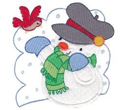 Snow Cuties Applique 11
