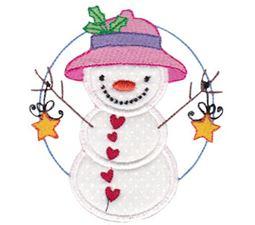 Snow Cuties Applique 2