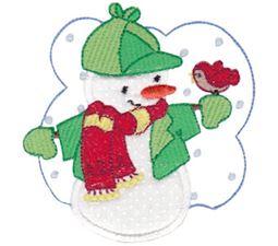 Snow Cuties Applique 4