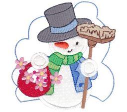 Snow Cuties Applique 5