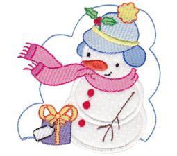 Snow Cuties Applique 8