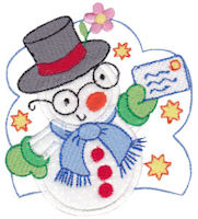 Snow Cuties Applique