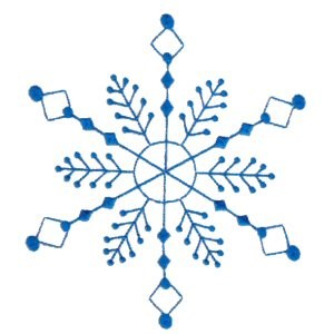 Embroidery Design Set - Snowflakes 11