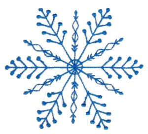 Machine Embroidery Designs  Snowflakes  Bunnycup Embroidery