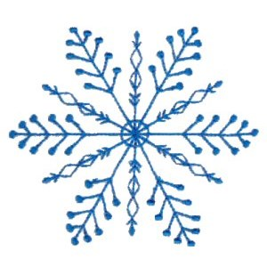 Embroidery Design Set - Snowflakes 13