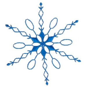Embroidery Design Set - Snowflakes 14
