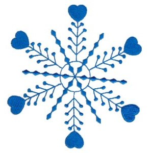 Embroidery Design Set - Snowflakes 16