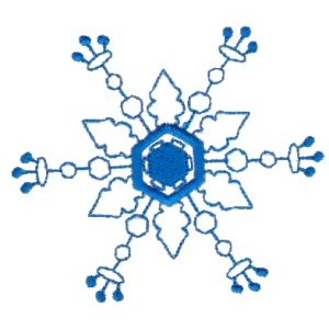 Embroidery Design Set - Snowflakes 17