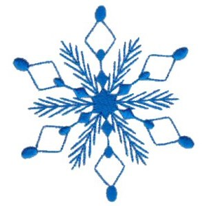 Embroidery Design Set - Snowflakes 18