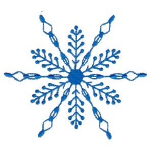 Embroidery Design Set - Snowflakes 20