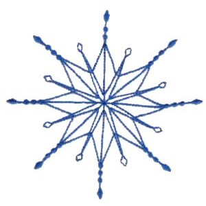Embroidery Design Set - Snowflakes 3