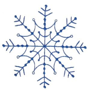 Embroidery Design Set - Snowflakes 5