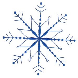 Embroidery Design Set - Snowflakes 9