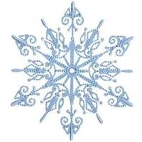 Embroidery Design Set - Snowflakes Too
