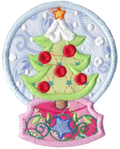 Applique embroidery designs snowglobes applique bunnycup