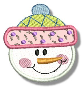 Snowman Soup Applique 2