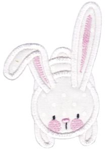 Snuggle Bunny Applique 10