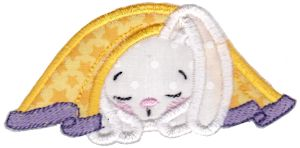 Snuggle Bunny Applique 11