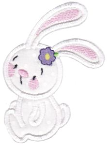Snuggle Bunny Applique 12