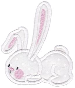 Snuggle Bunny Applique 13