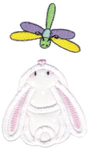 Snuggle Bunny Applique 14