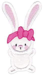 Snuggle Bunny Applique 2