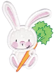 Snuggle Bunny Applique 4