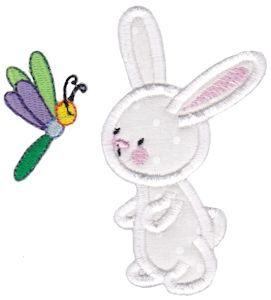 Snuggle Bunny Applique 5