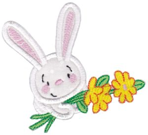 Snuggle Bunny Applique 7