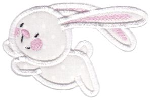 Snuggle Bunny Applique 8