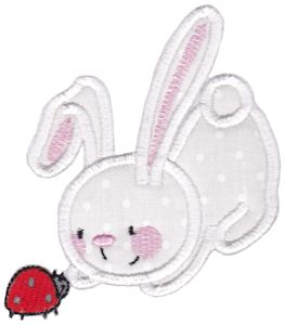 Snuggle Bunny Applique 9