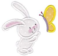 Snuggle Bunny Applique