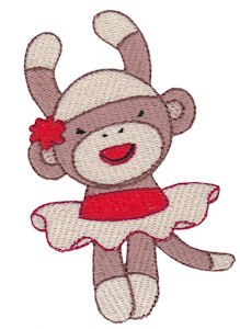 Machine Embroidery Designs | Sock Monkeys | Bunnycup Embroidery