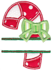 Split Christmas Applique 11