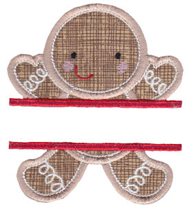 Split Christmas Applique 4