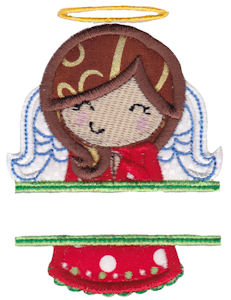 Split Christmas Applique 5