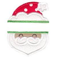 Split Christmas Applique