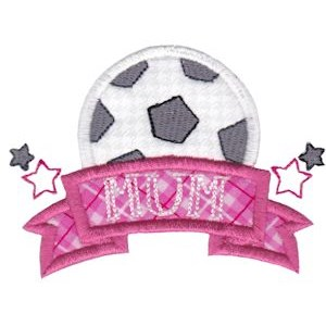 Embroidery Design Set - Sports Mom 18