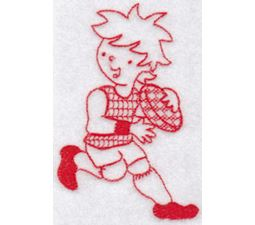 Sporty Boys Redwork Too 2