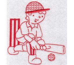 Sporty Boys Redwork Too 4