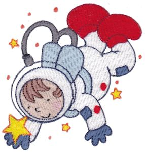 Machine embroidery designs step into space bunnycup for Space embroidery patterns